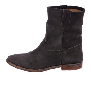 Suede Isabel Marant boots